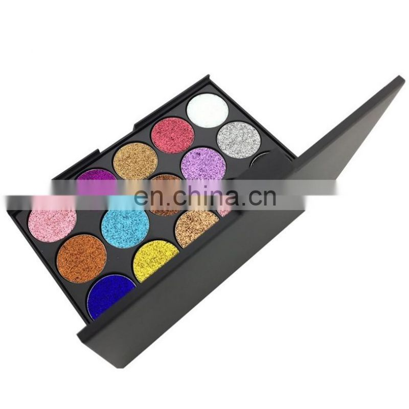 2017 hot sales make up15 color pearl eye shadow private label eye shadow