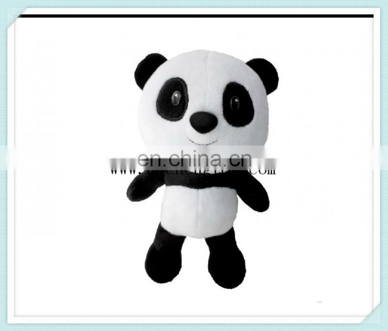 Customize plush animal hat PV plush catch CE standard