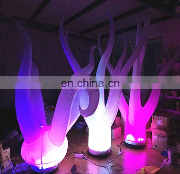 inflatable seaweed decorations coral seaweed lighting led light inflatable seaweed