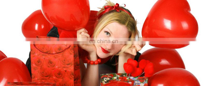 "(DX-QQ-0041)W:18"" H:19"" ROSE BALLOONS FOR VALENTINE'S DAY"
