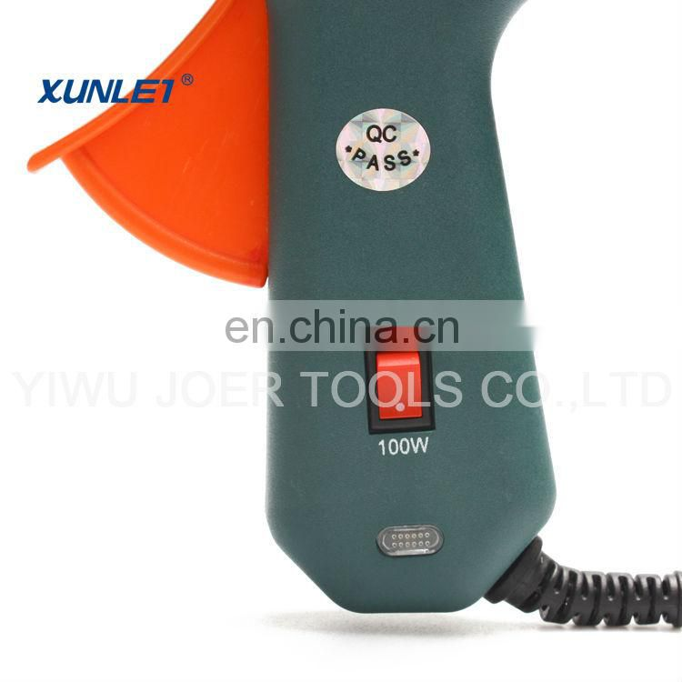 Factory sale Dual Temp Hot Glue Gun 60-100W