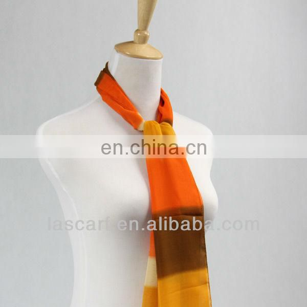 New style rainbow colorful loop scarf
