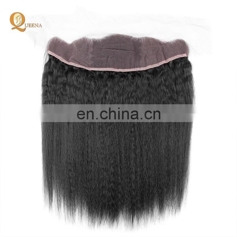 8a grade brazilian hair with frontals 13X4 lace frontal peruvian deep wave in xuchang