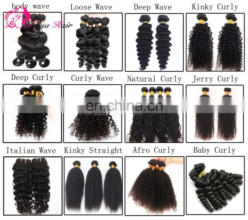 human virgin blonde deep wave hair weft