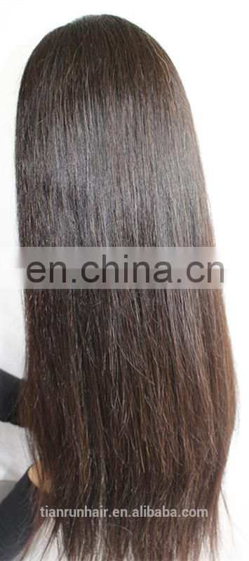 Alibaba wholesale hot selling top quality full lace virgin Brazilian human hair wig