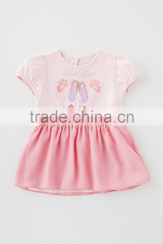 2016 new products Japanese wholesale cute latest design baby frock toddler rompers kids clothes children clothing