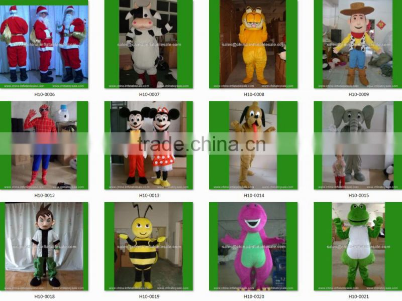 Custom made mascot costumes for adults , rabbit plush costume rabbit with competitive price