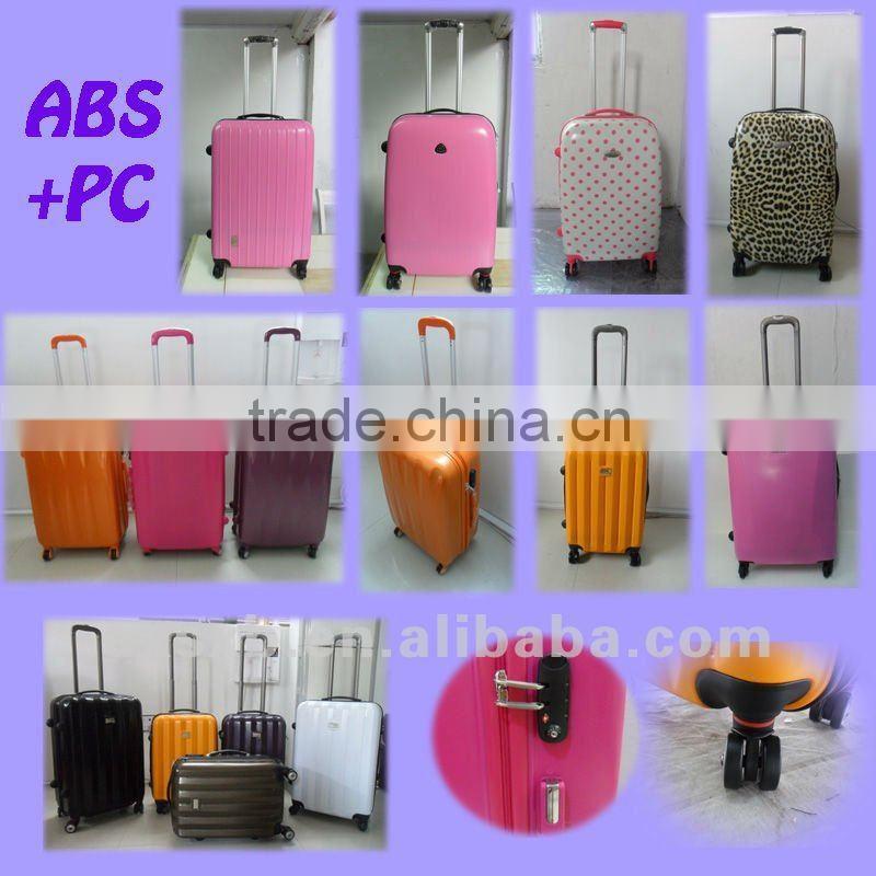 301de8ad0d ABS+PC 3 pcs set eminent 3 piece trolley luggage set swiss polo luggage