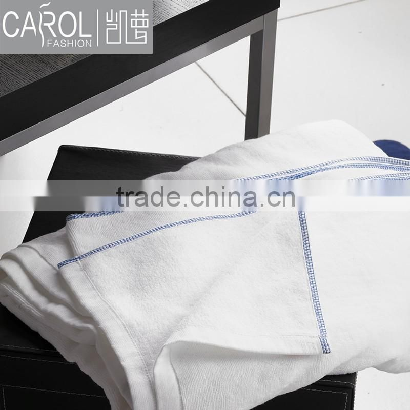 Low MOQ 100%cotton jacquard bath towels for luxury hotel