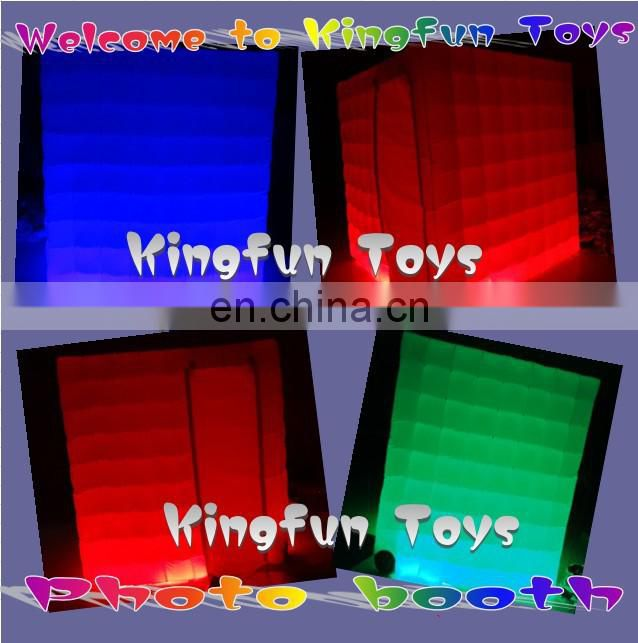 New design Inflatable photo tentage with LED lights