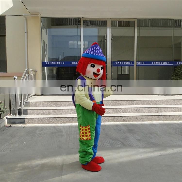 Wholesaler cheap cosplay costume clown costume promotions