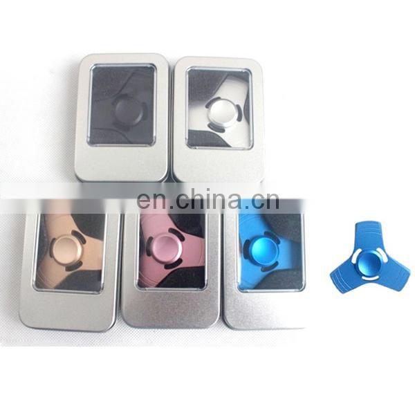High speed bearing high quality fidget top toys spinner aluminum