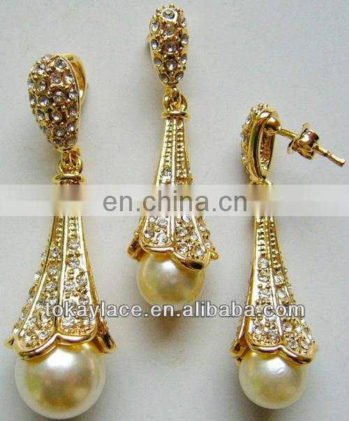 2013 cheap African jewelry set for wedding and party