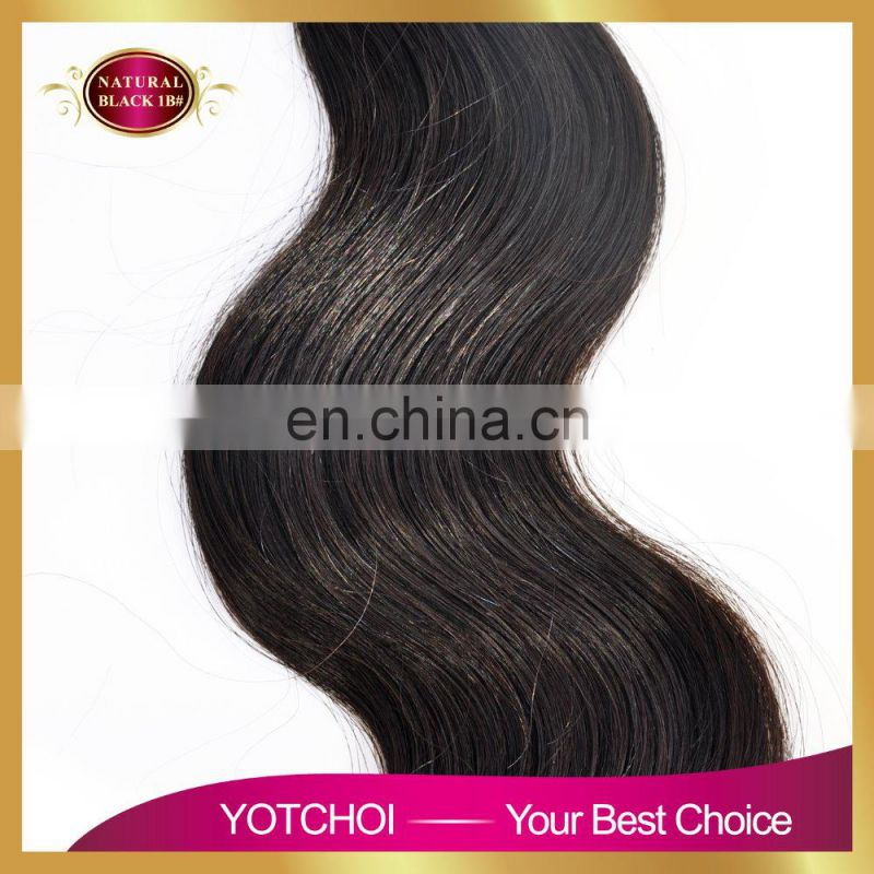 Cheap price for big sale 2016 Very Popular body wave chinese virgin hair