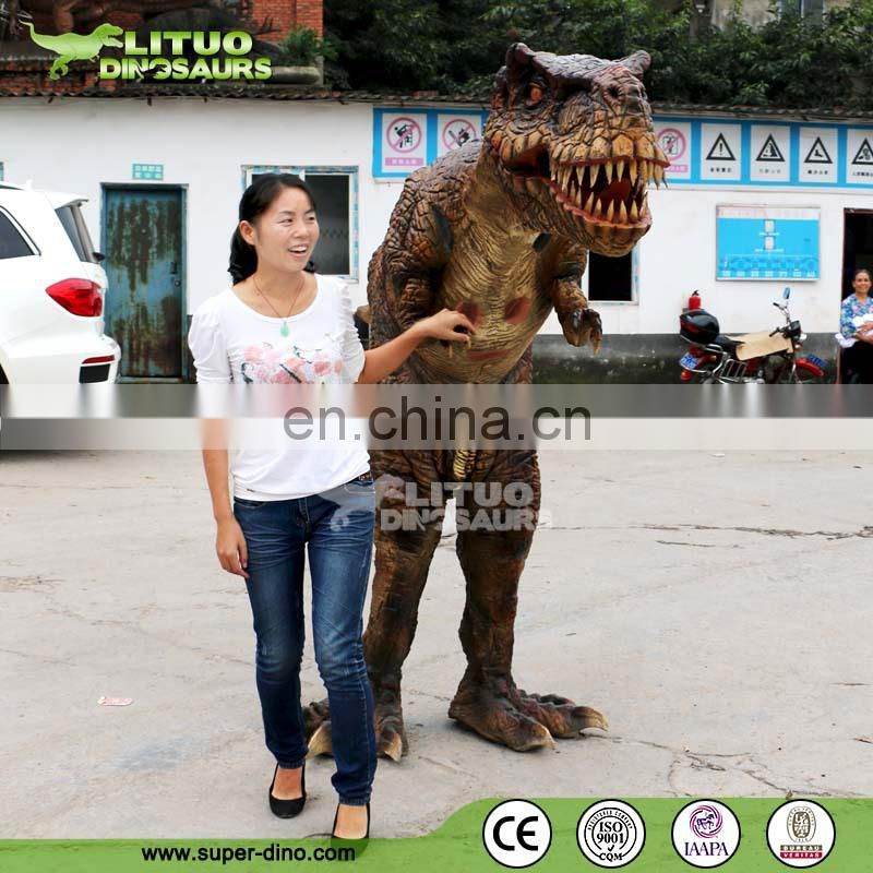 Adult Walking Dinosaur Costume Hide Legs