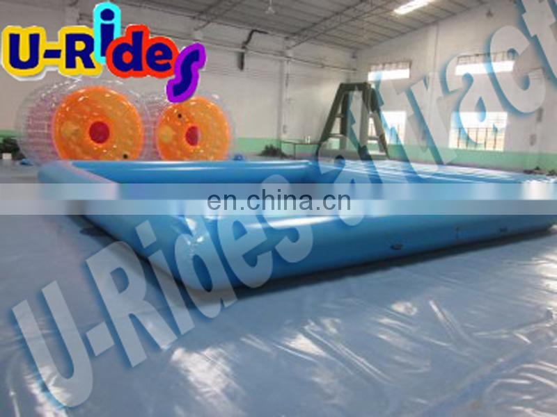 huge indoor inflatable swimming pool with ball