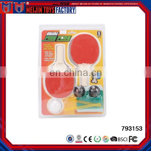 cheap good quality durable training table tennis racket types for sale