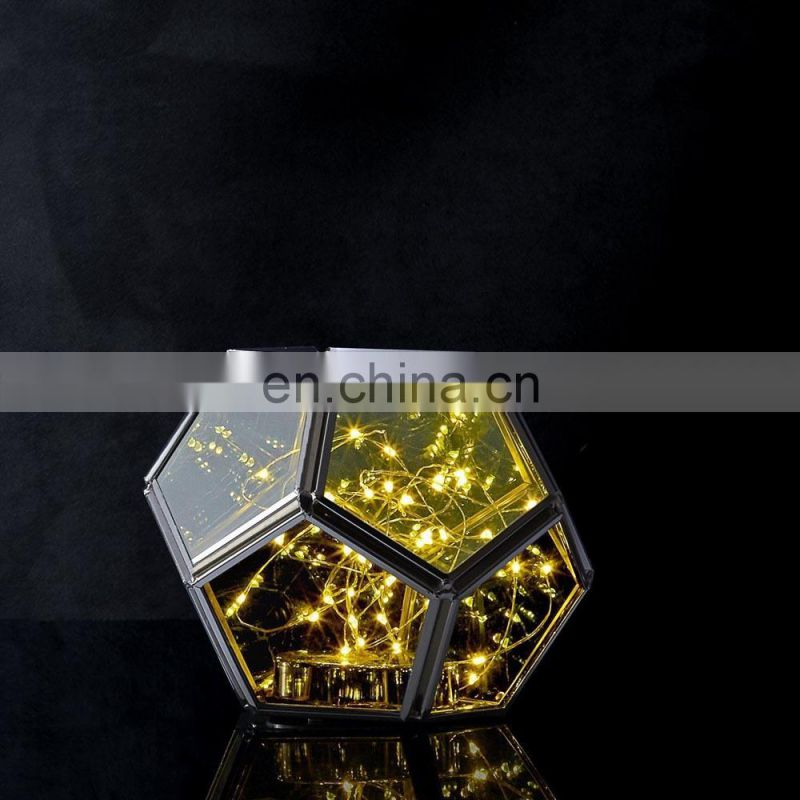 Hexagon Shape Decorative Geometric Terrarium