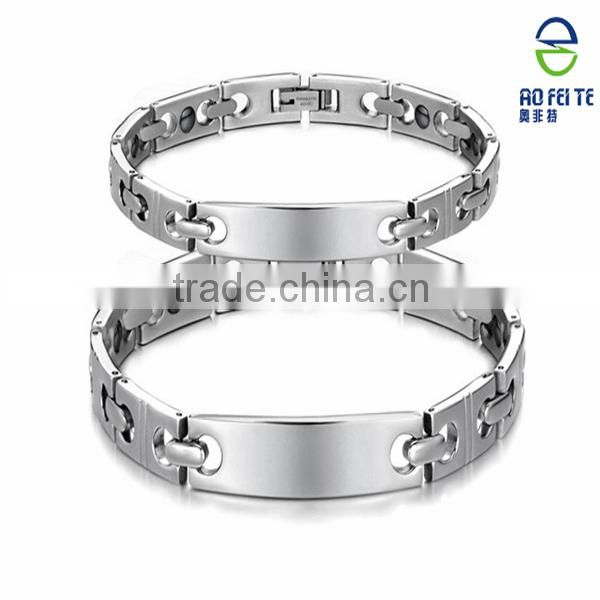 health care product bio magnetic positive quality bracelets energy stainless
