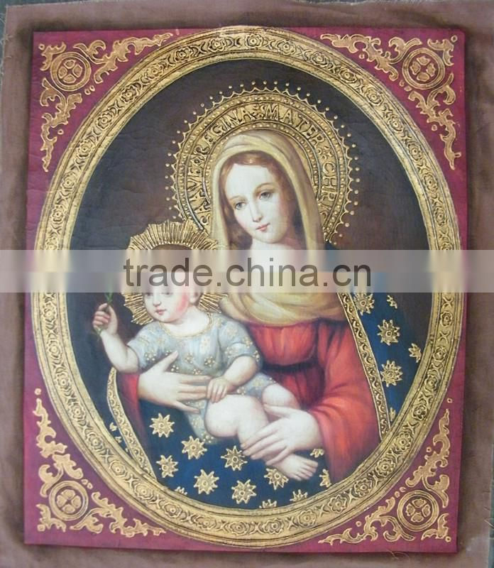 Blessed Virgin Mary Oil Painting
