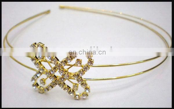 Fashion rhinestone crystal bridal headband