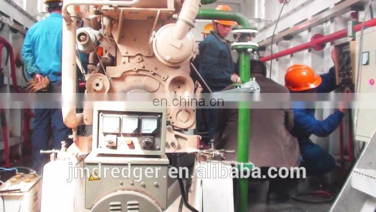 5000m3 China Cutter Suction Dredger /River mining/dredging machine at low cost