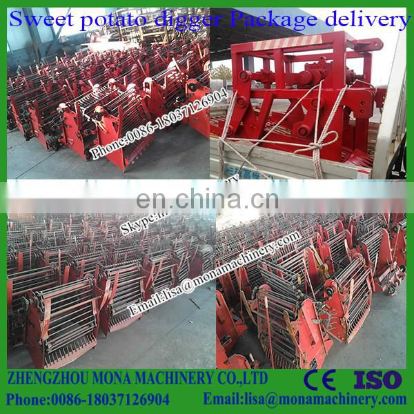 Cheap tractor PTO single-row potato harvesting machine for sale Image
