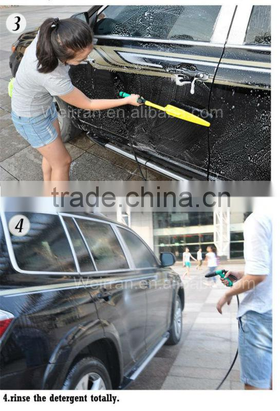(71591) portable multipurpose electric powered car washing waxing sponge