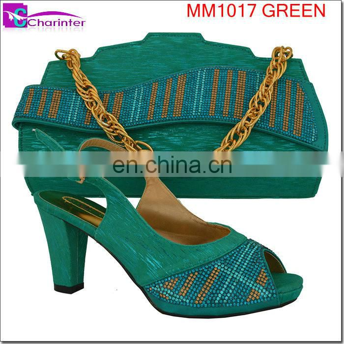 italian matching shoes and bags MM1017