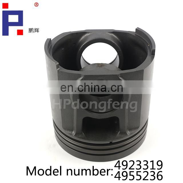 Engine part K19 4923319 piston