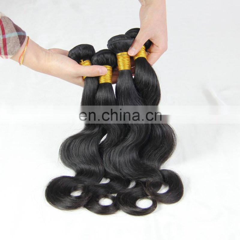 Youth Beauty Hair 2017 top quality 9A grade brazilian virgin human hair weaving in body wave wholesale price