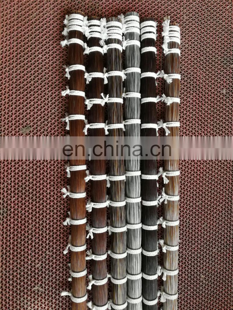 Buy medium grey horse hair / horse tail hairs