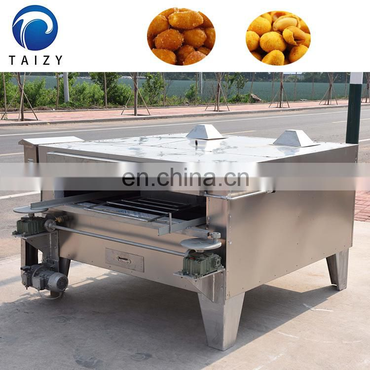 chinese nut roasting oven automatic sunflower seeds nuts coated peanut roasting machine