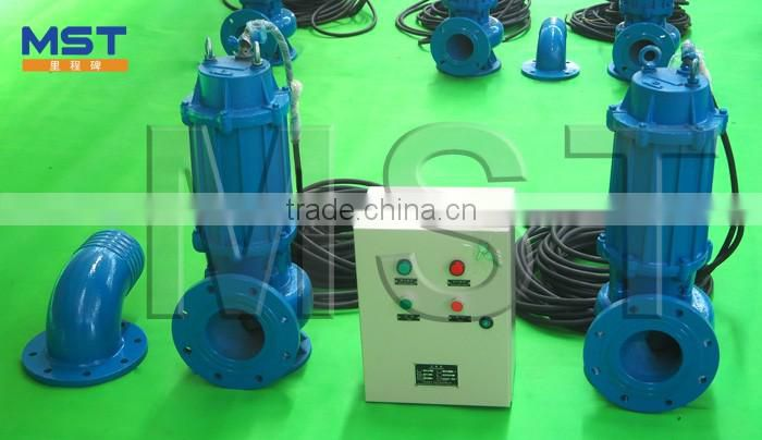 10kw Automatic Lubrication Submersible Water Pump