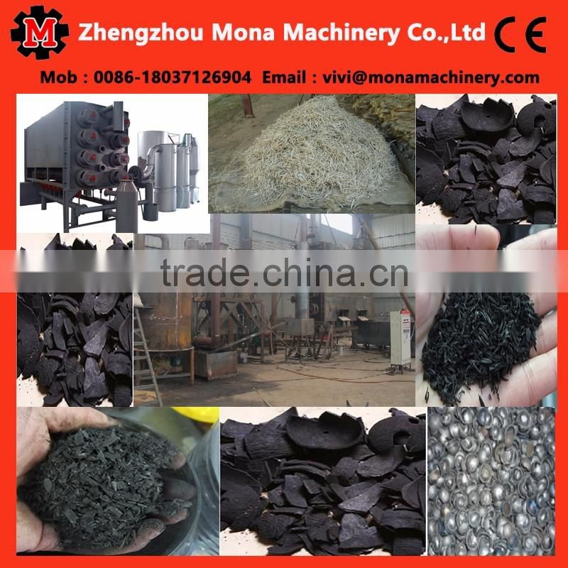 Charcoal Carbonization Stove Continuous Wood Carbonization Furnace/palm kernel shells charcoal making machine
