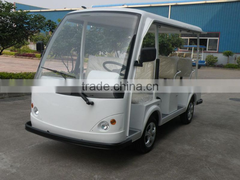 battery powered mini 11 seats electric shuttle bus