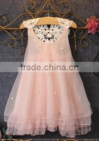 Summer New Baby Dresses Girl Lace Bow First Birthday Party Princess Dress Wedding Christening Gowns Baby Girl Dress