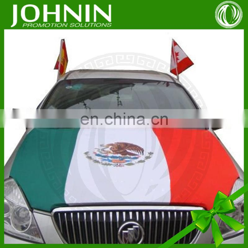 EU Cup printed custom durable wholesale football car hood flags