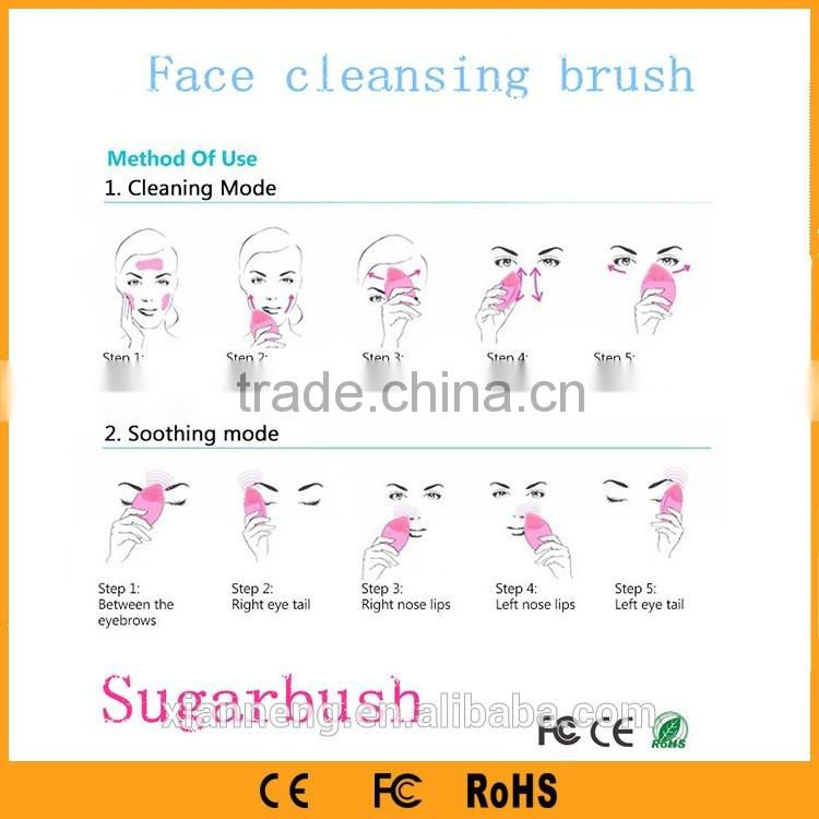 New Low price Handheld silicone face wash brush beauty personal care home beauty machine for personal use