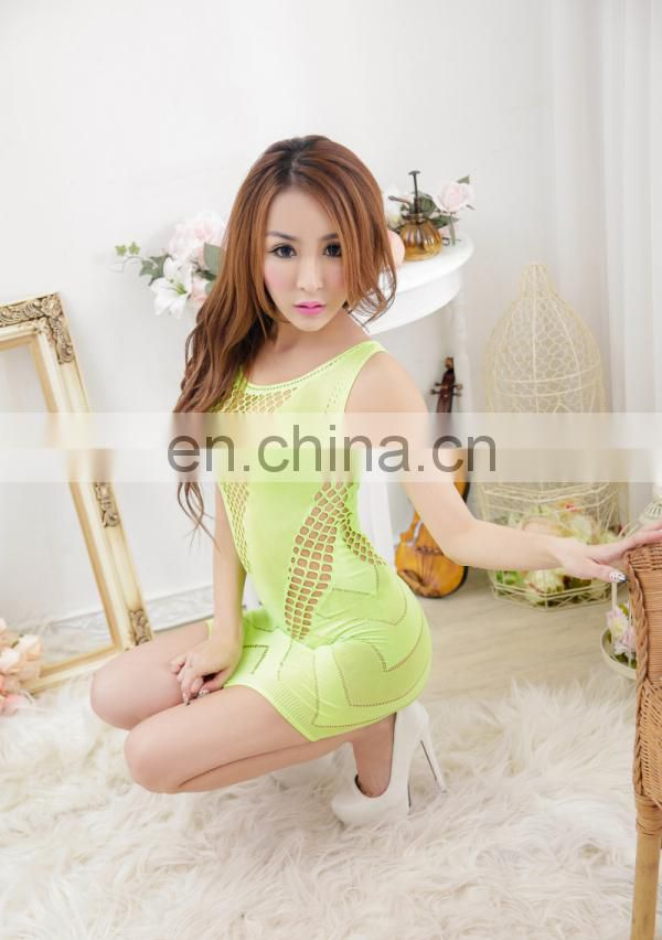 New Arrive Green Fantasy Mature Women Sexy Lingerie