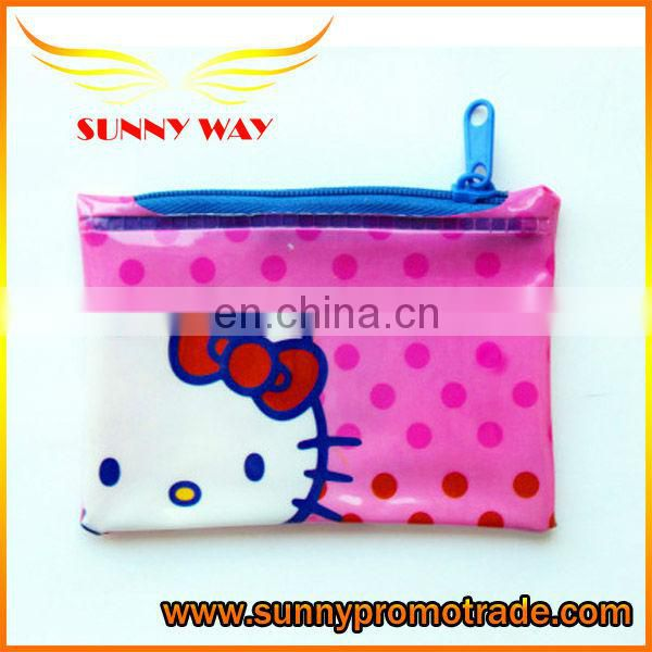 Hot-selling Lovely Kitty PVC Coin Purse