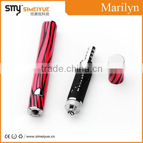 electronic cigarette Marilyn e vaporizer e cigarette vaporizer pen starter kit Deywel vapor marilyn kit led blue light