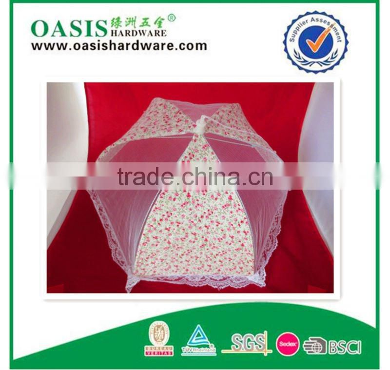 mosquito net food cover /Polyester mesh food cover /Net Food Cover /New collapsible portable ofawidevariety beautiful Food cover