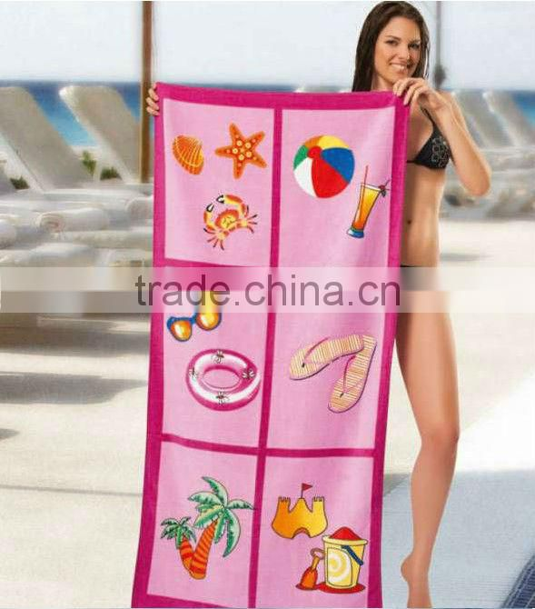 2017 promotion products promotion beach towel