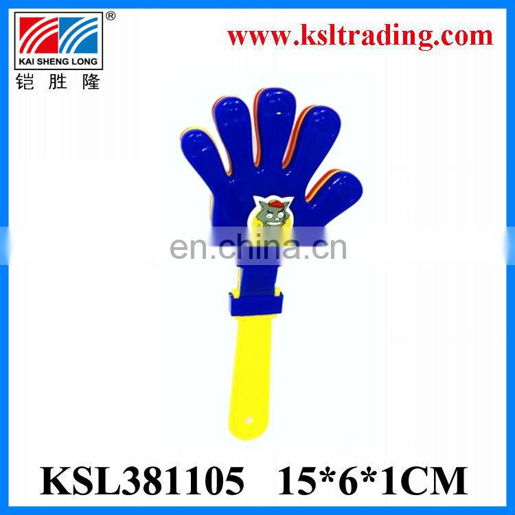 Promotional toy small plastic clap hand