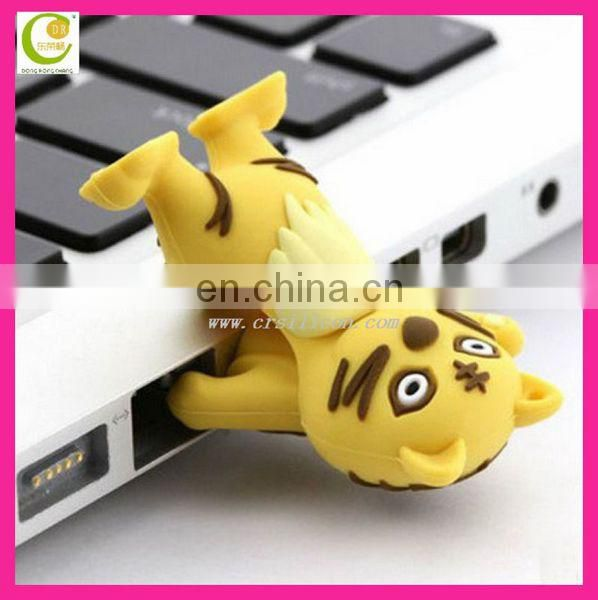 Top selling high quality usb flash drive cartoon & &soft pvc usb cover & silicone usb cases