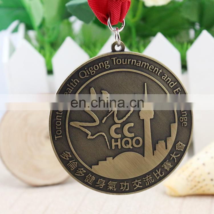 High quality metal medal custom cute miraculous medal sports medal