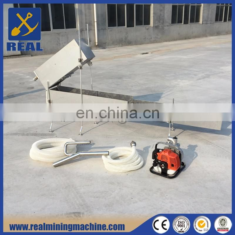 High recovery rate Mini Gold Sluice Box for gold mining