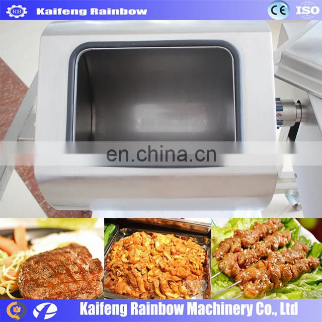 good sealing and fast curing vacuum meat marinating machine can improve the seasoning into the meat rate