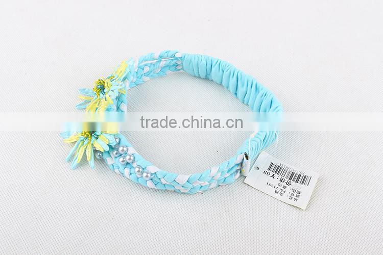 Brand New Baby Hair Accessories Children Girl Headbands Two Flower Plastic Hair bands